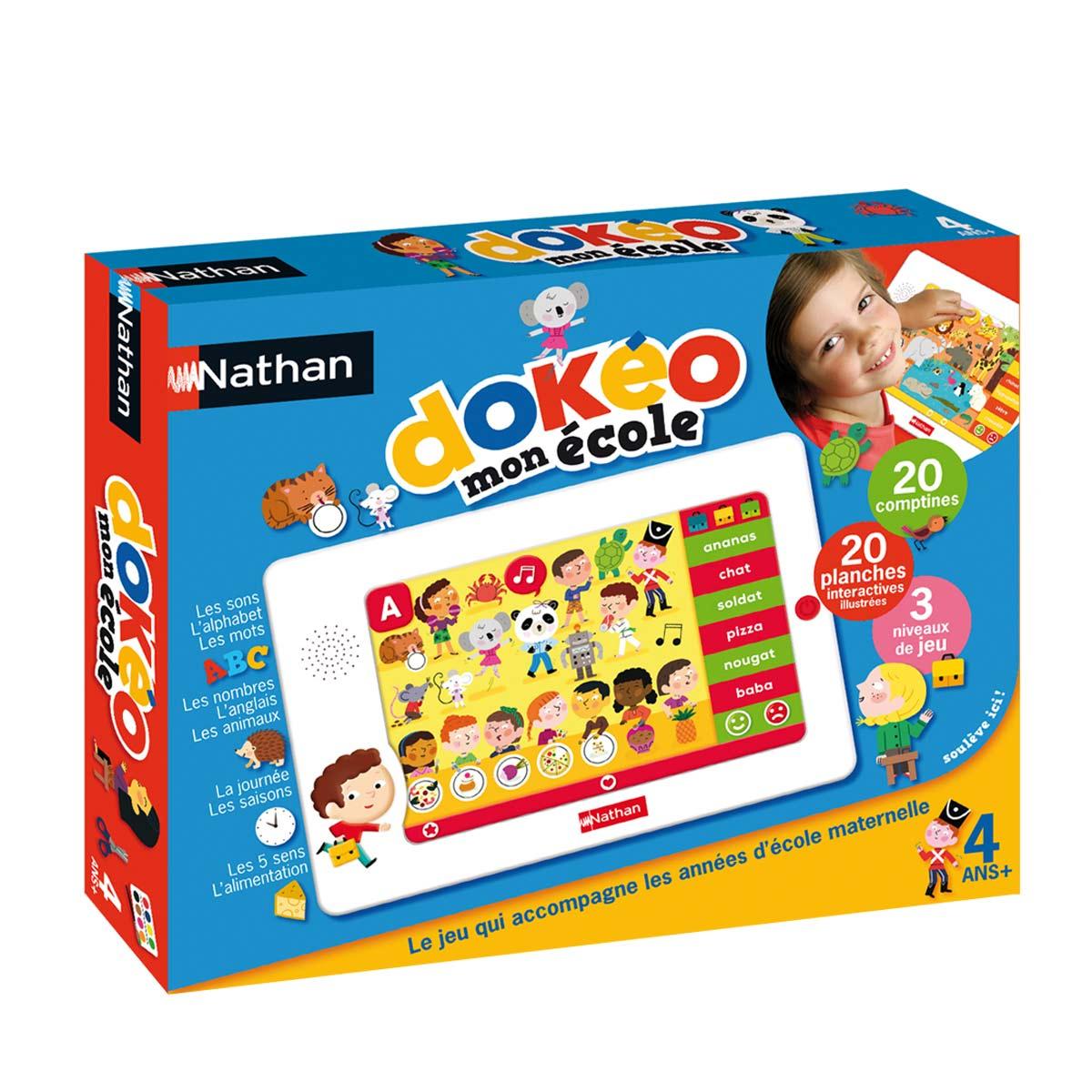 Tablette Éducative Dokéo École avec Jeux Educatif 5 Ans