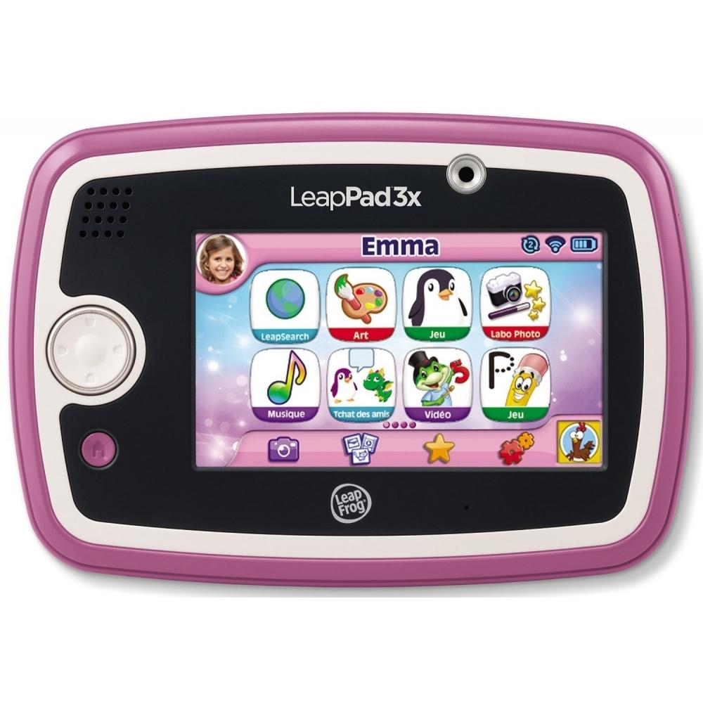 Tablette Educative Leappad 3X 15 Applications Fille Rose 3-9 Ans Ca2 Ref  81500-31203 concernant Jeux De Fille 9 Ans