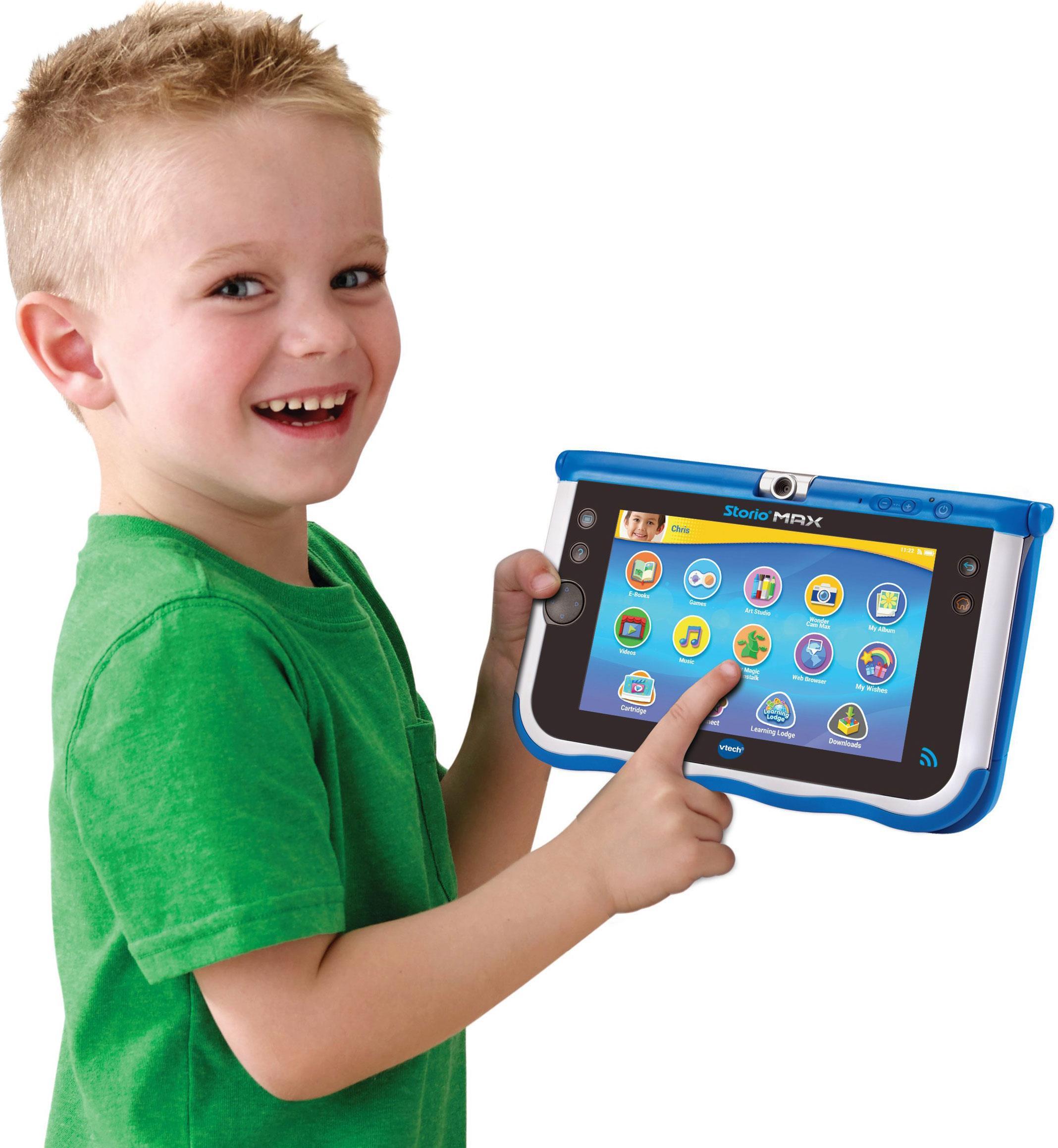 Tablette Éducative Storio Max 7'' Vtech Bleue - Tablette destiné Tablette Enfant Fille