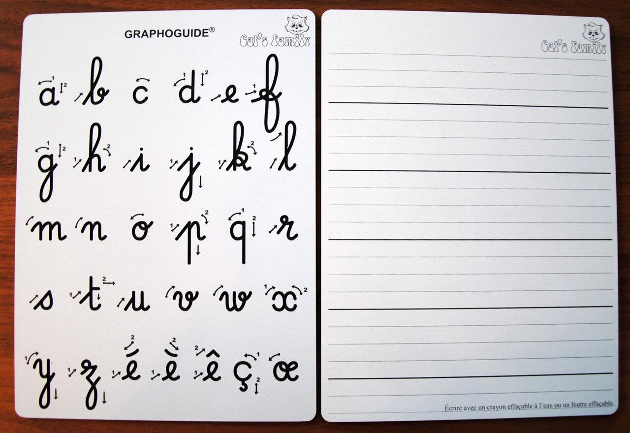 Tablette J'apprends À Écrire Les Minuscules Cursives tout Apprendre A Ecrire Les Lettres En Minuscule