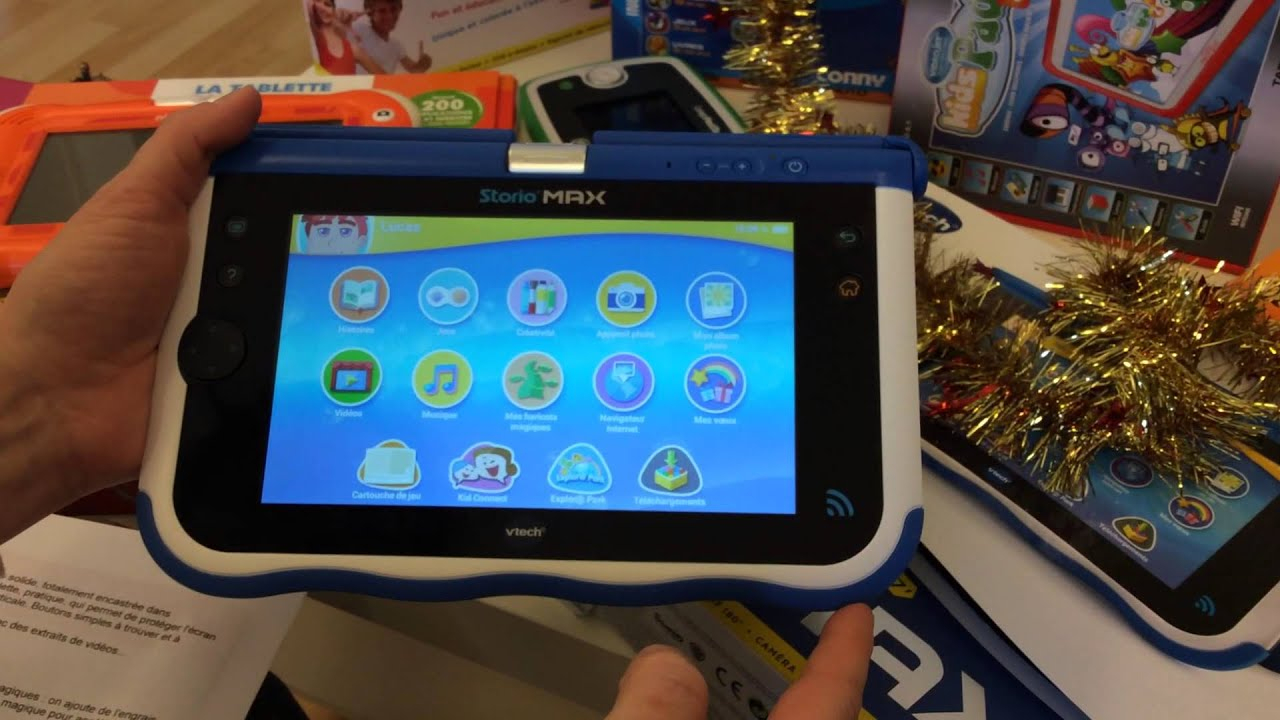 Tablette Storio Max pour Tablette Enfant Fille
