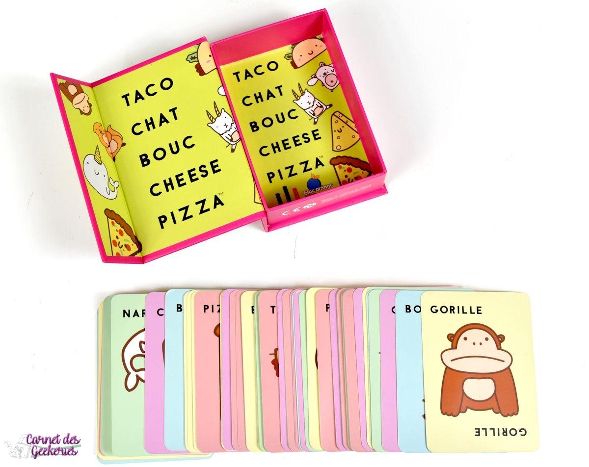 Taco Chat Bouc Cheese Pizza - Test Et Avis - Blue Orange intérieur Jeux De Gorille Gratuit