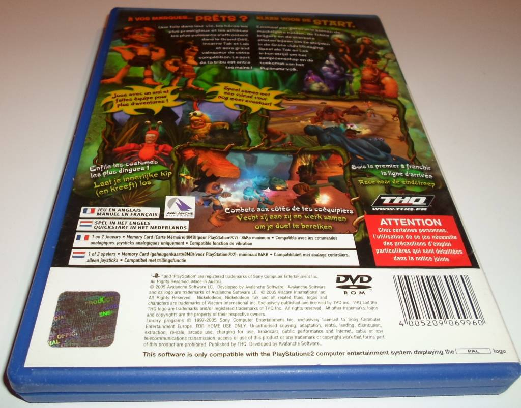 Tak - The Great Juju Challenge For Playstation 2 Ps2 With tout Jeu Memory En Ligne