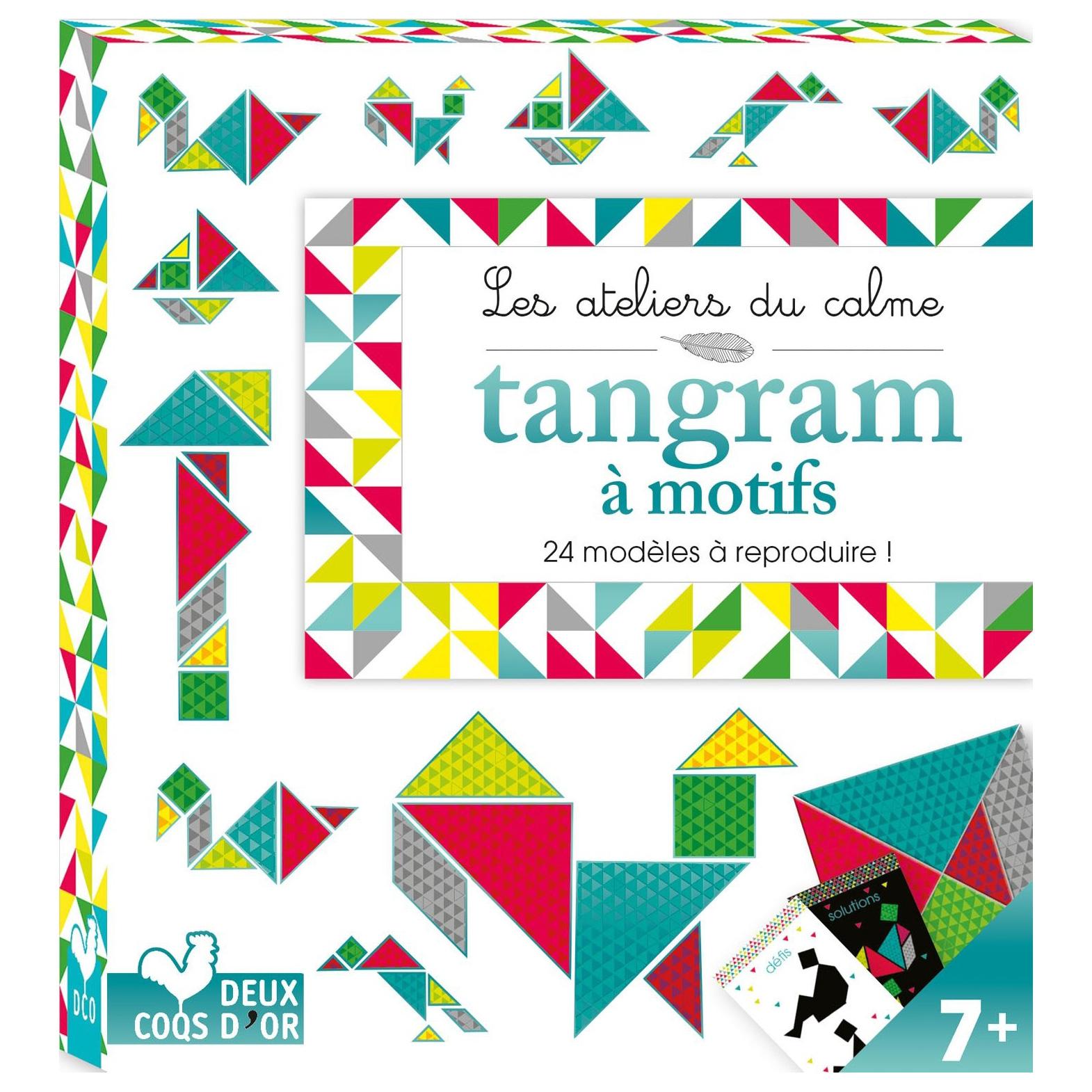Tangram À Motifs dedans Tangram Modèles Et Solutions