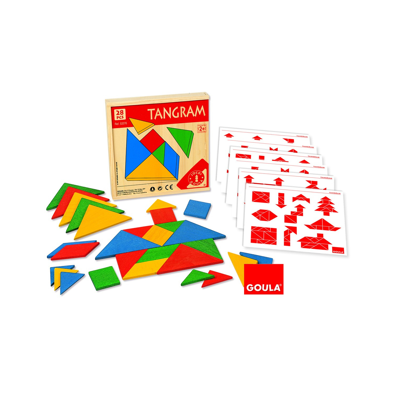 Tangram (Boîte De 4 Jeux) destiné Jeux De Tangram Gratuit
