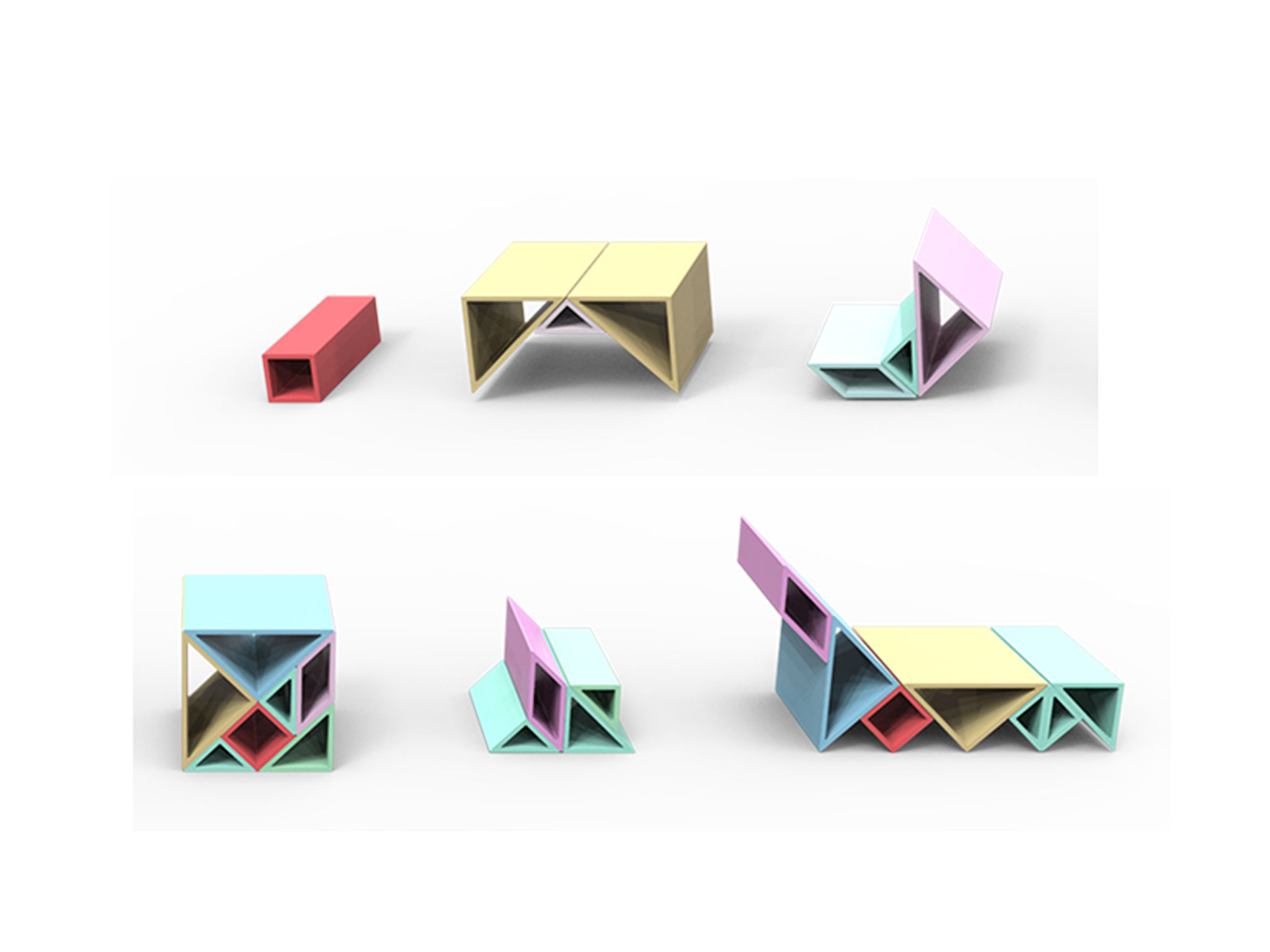 Tangram Chair | If World Design Guide encequiconcerne Tangram Cycle 3