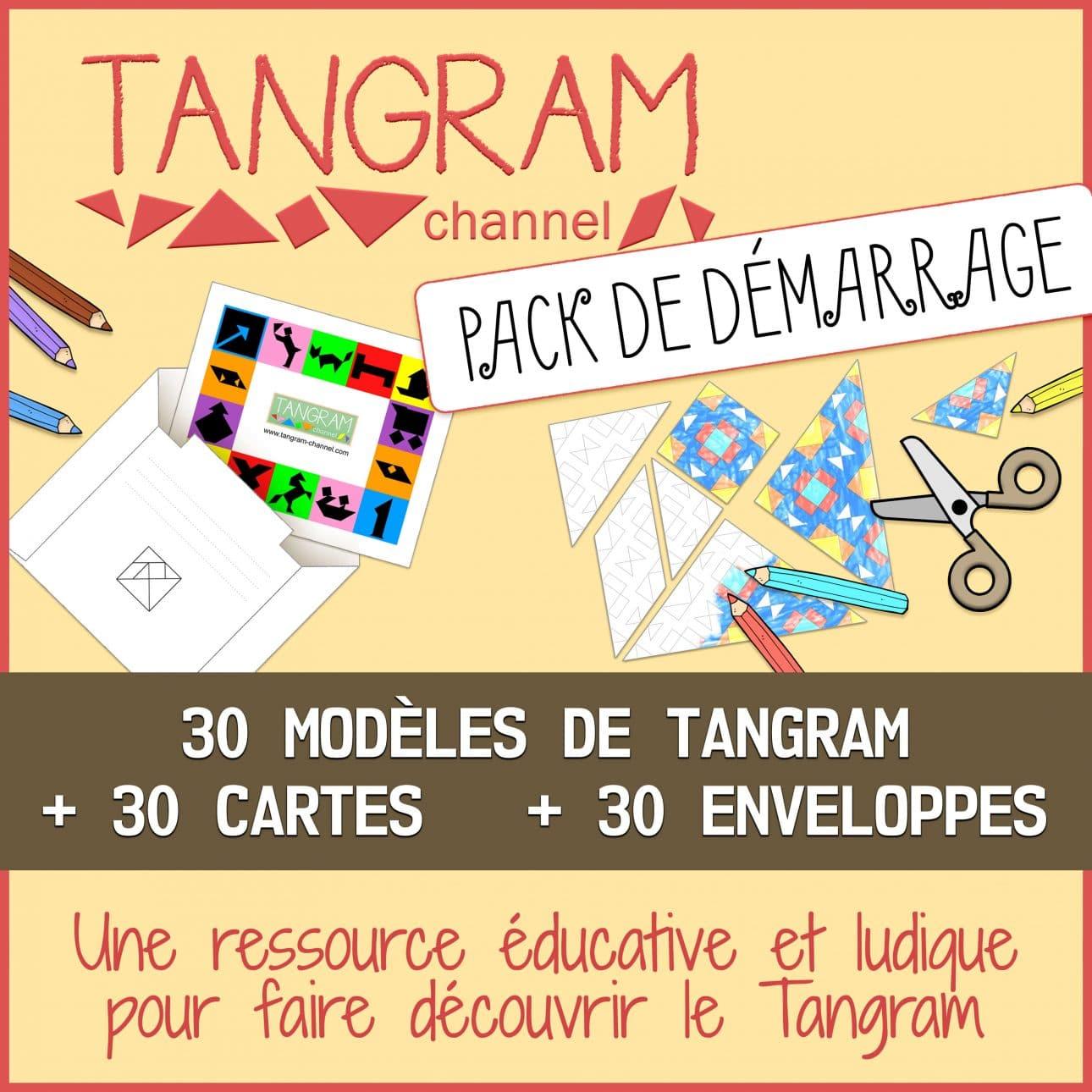 Tangram Channel - Pack De Demarrage concernant Tangram Modèles Et Solutions
