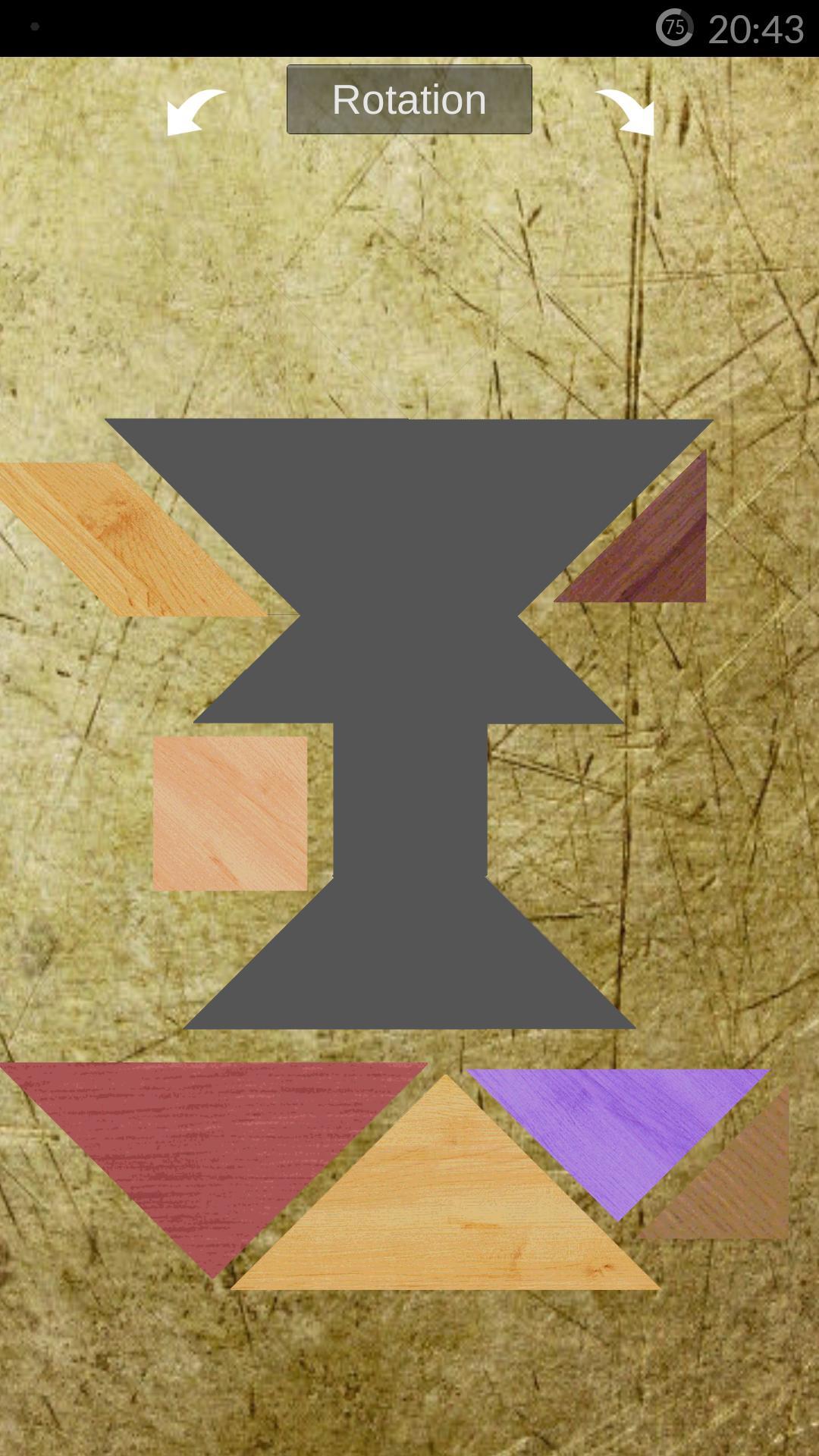 Tangram Gratuit For Android - Apk Download encequiconcerne Jeux De Tangram Gratuit
