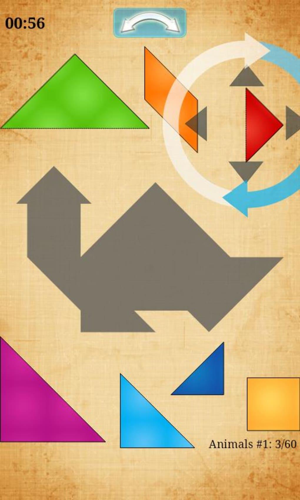 Tangram Hd Pour Android - Télécharger à Jeux De Tangram Gratuit