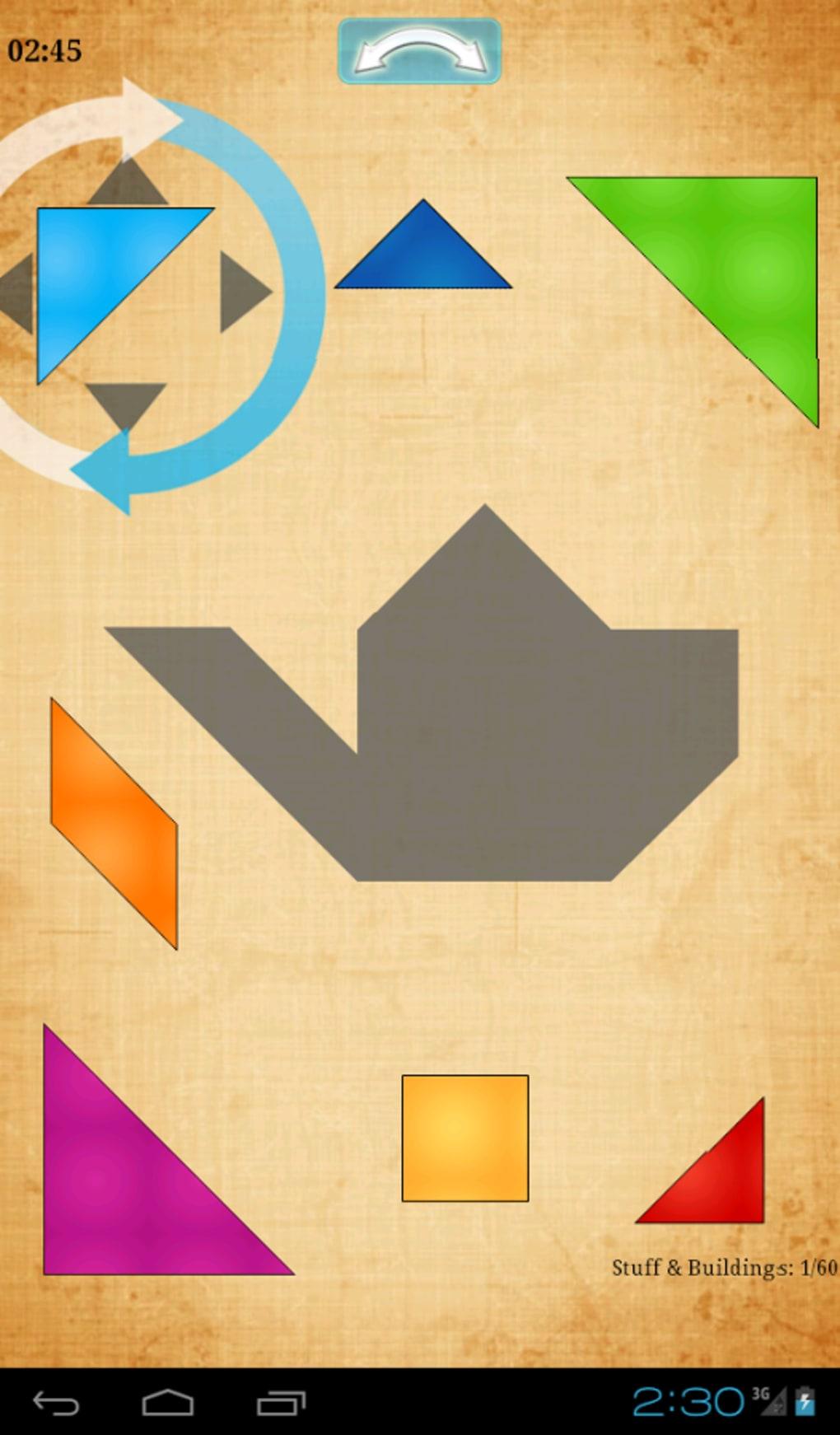Tangram Hd Pour Android - Télécharger concernant Jeux De Tangram Gratuit