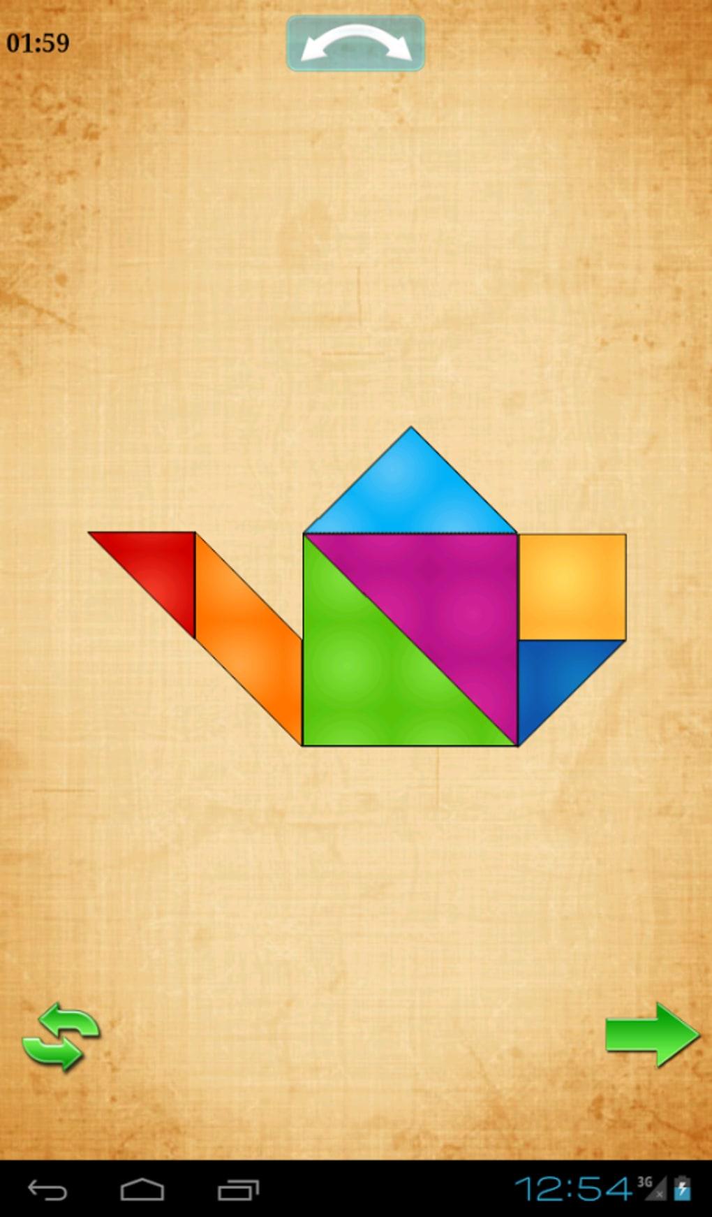 Tangram Hd Pour Android - Télécharger dedans Jeux De Tangram Gratuit