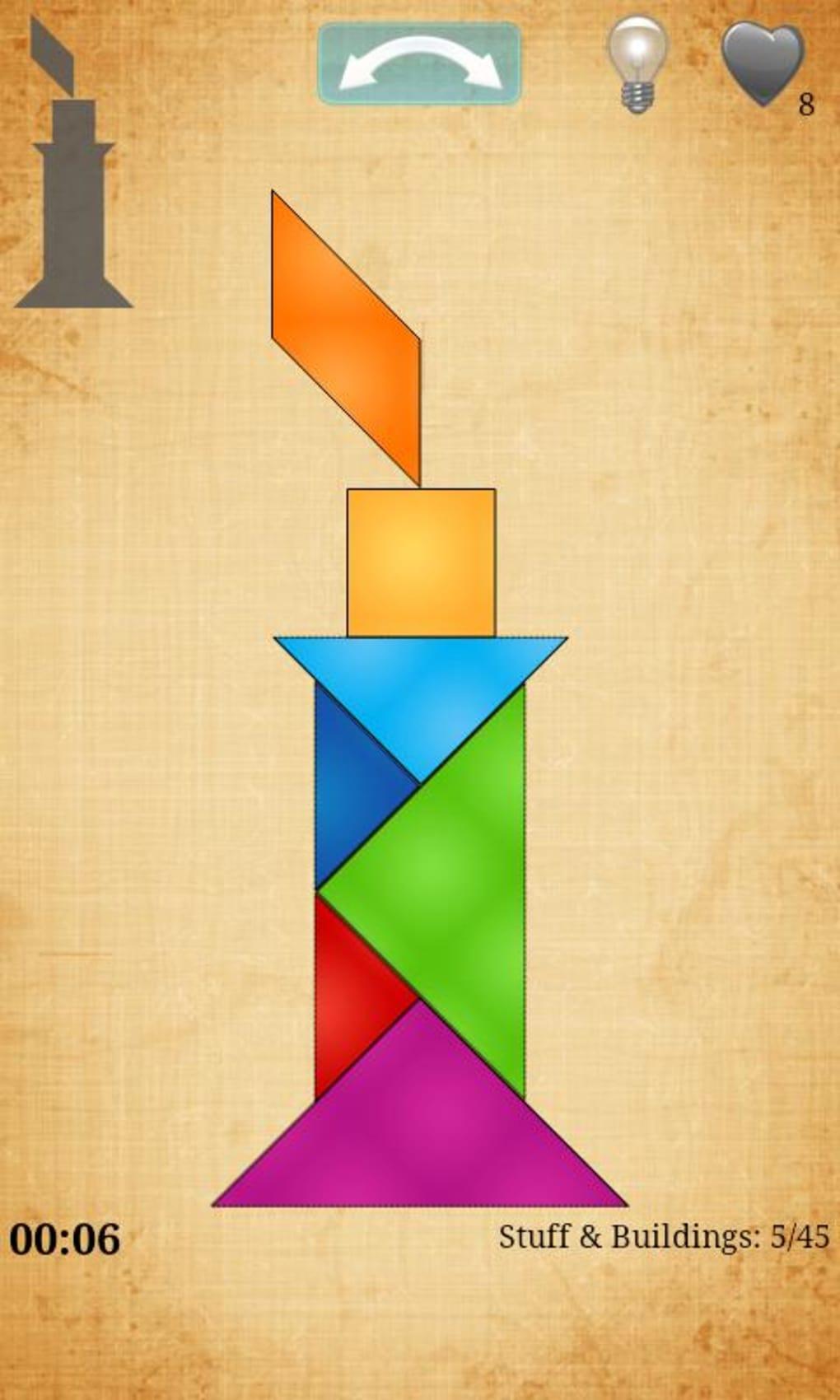 Tangram Hd Pour Android - Télécharger dedans Tangram Modèles Et Solutions