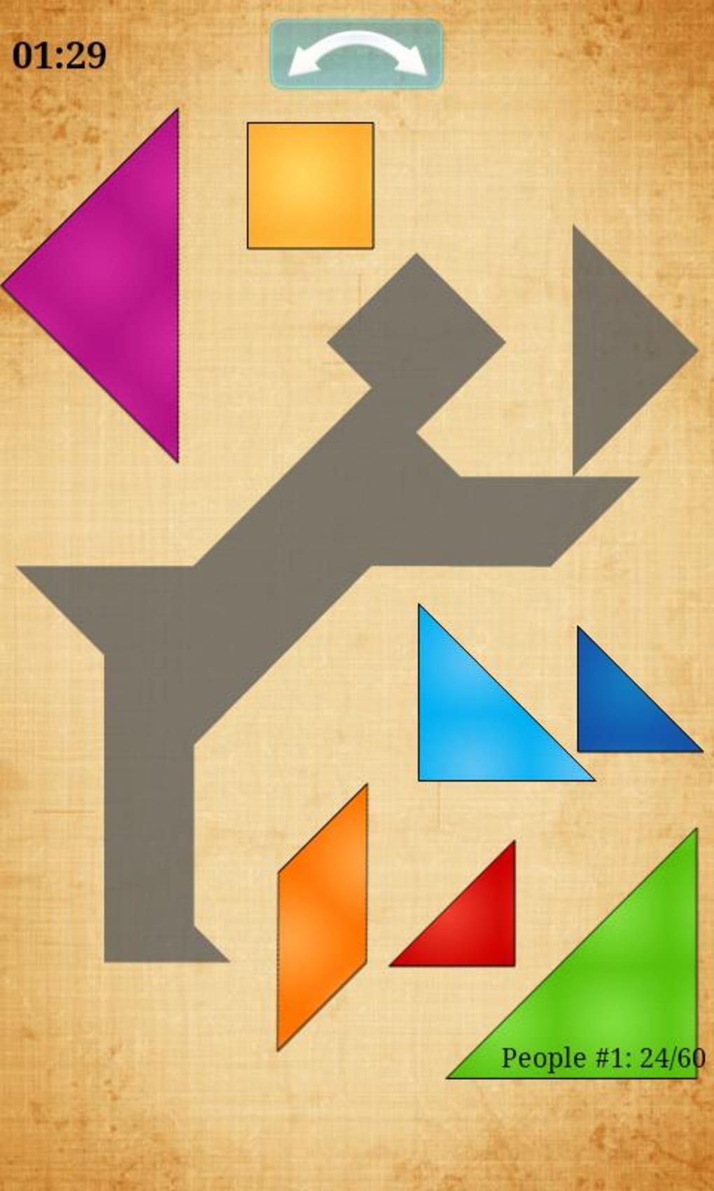 Tangram Hd Pour Android - Télécharger tout Jeux De Tangram Gratuit