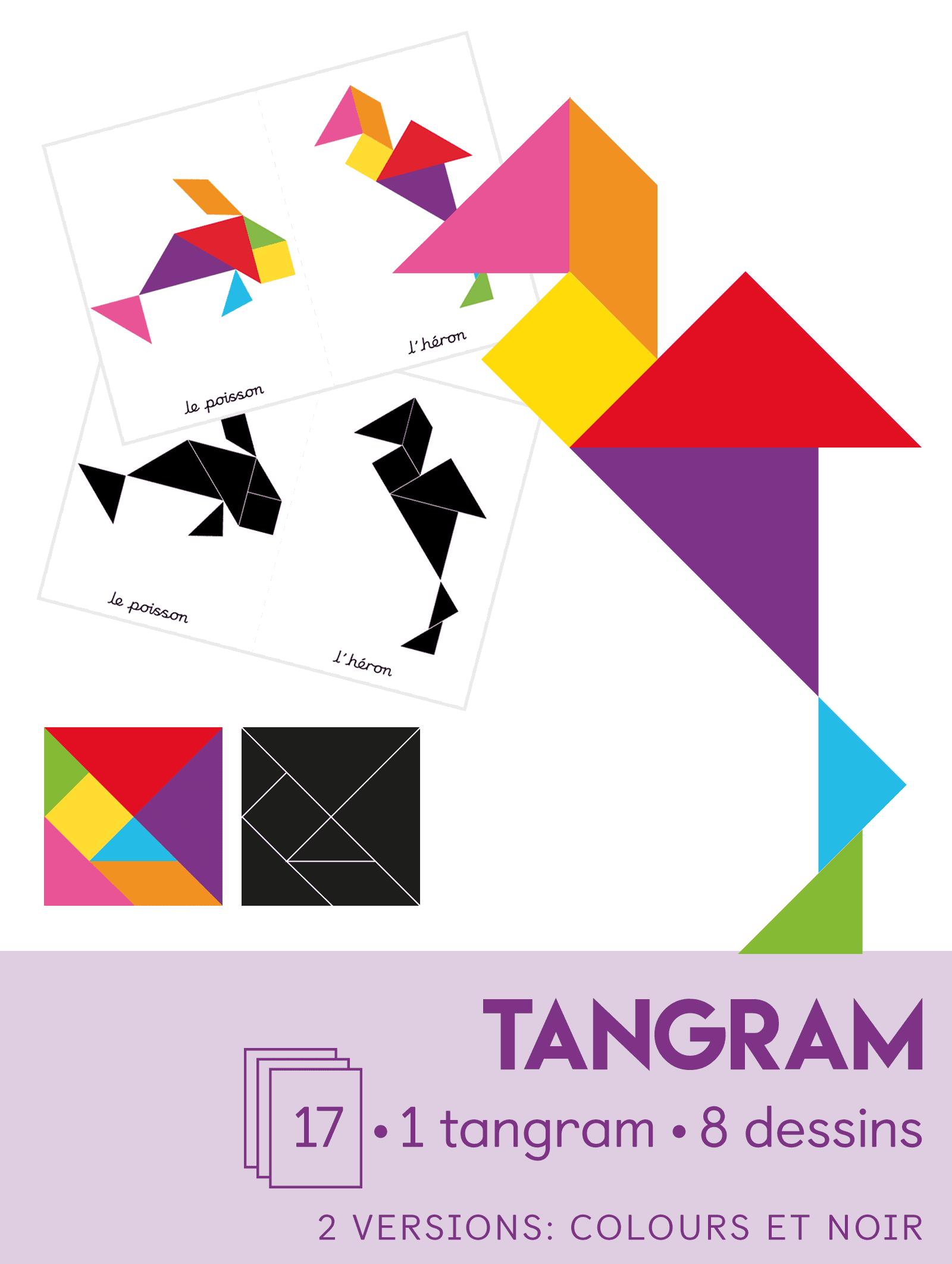 Tangram I Les Sept Plaques De L'habileté - Dcouvre tout Tangram À Découper