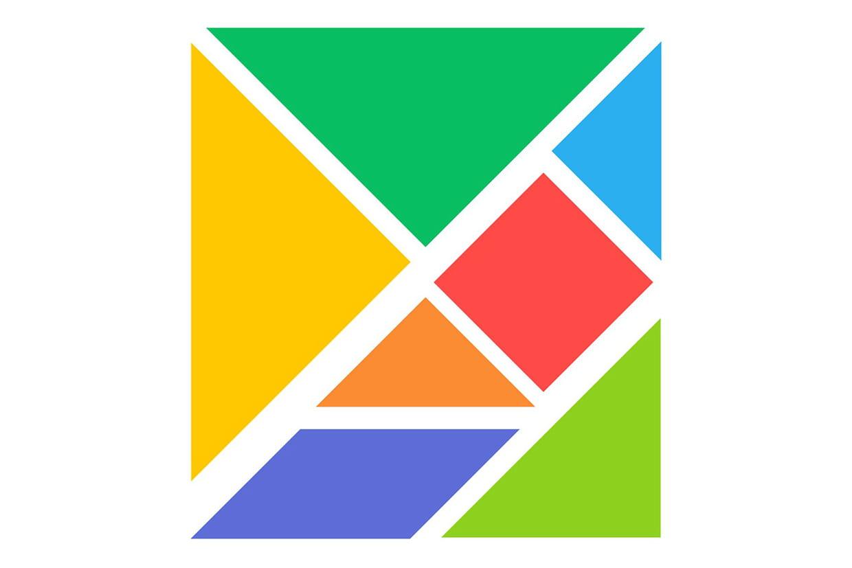 Tangram, Les Pièces À Découper pour Modèle Tangram À Imprimer