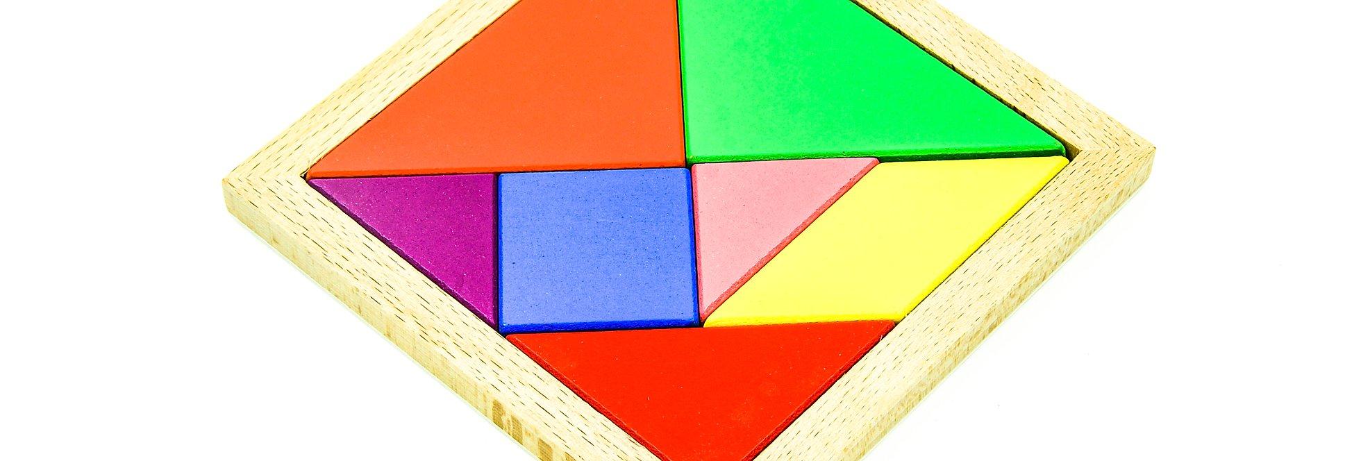 Tangram Puzzle Jigsaw Puzzle pour Pièces Tangram
