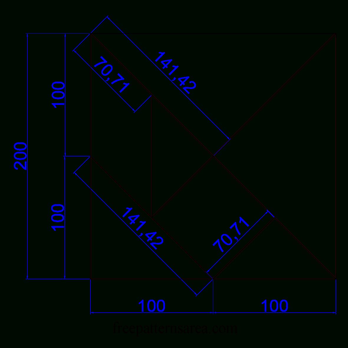 Tangram Puzzle Toy Plan destiné Tangram À Découper