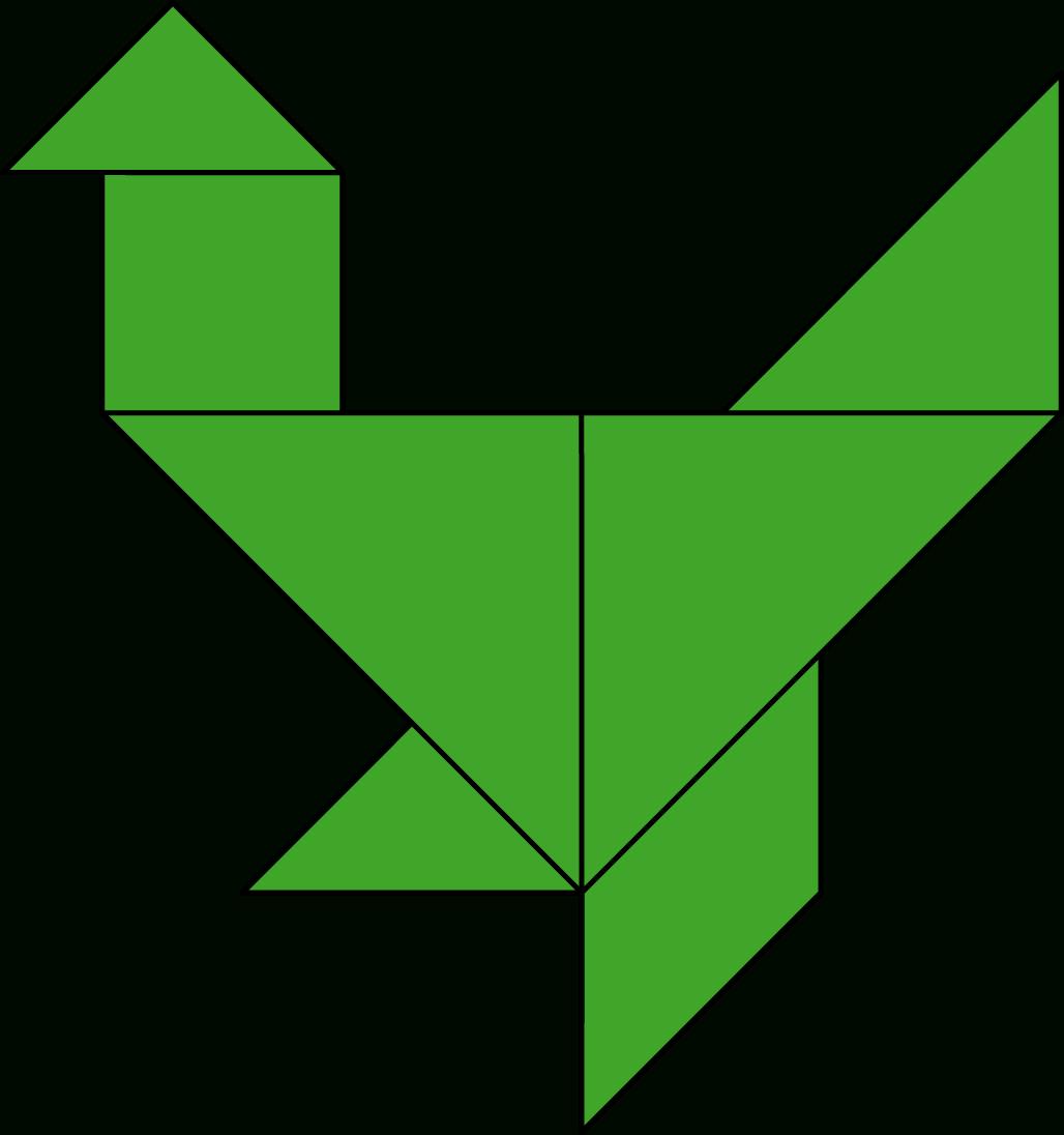 Tangram #tangrambirds, #tangramforkids Tangram Birds Chicken intérieur Tangram En Ligne