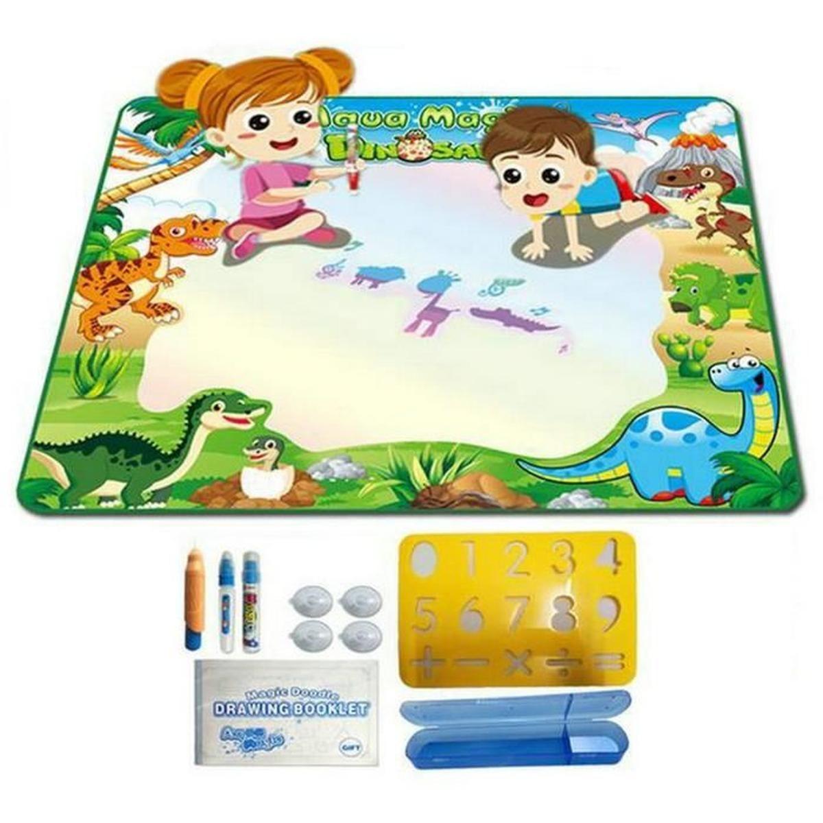 Tapis Coloriage Magnetic Planche À Dessin Peinture Enfants à Jeux Enfant Dessin