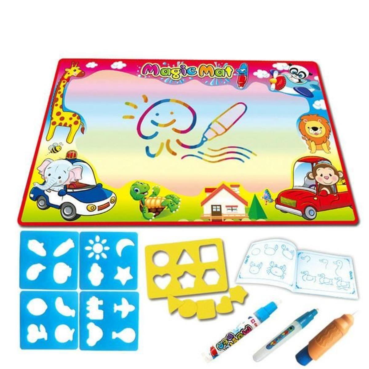 Tapis Coloriage Magnetic Planche À Dessin Peinture Enfants dedans Coloriage Aspirateur