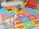 Tapis De Jeu Pour Bébé Puzzle De Sol Pour Bébé En Mousse Soft Nombre  D'alphabet Pour Tout-Petit Rampant destiné Jeux Gratuit Pour Bebe
