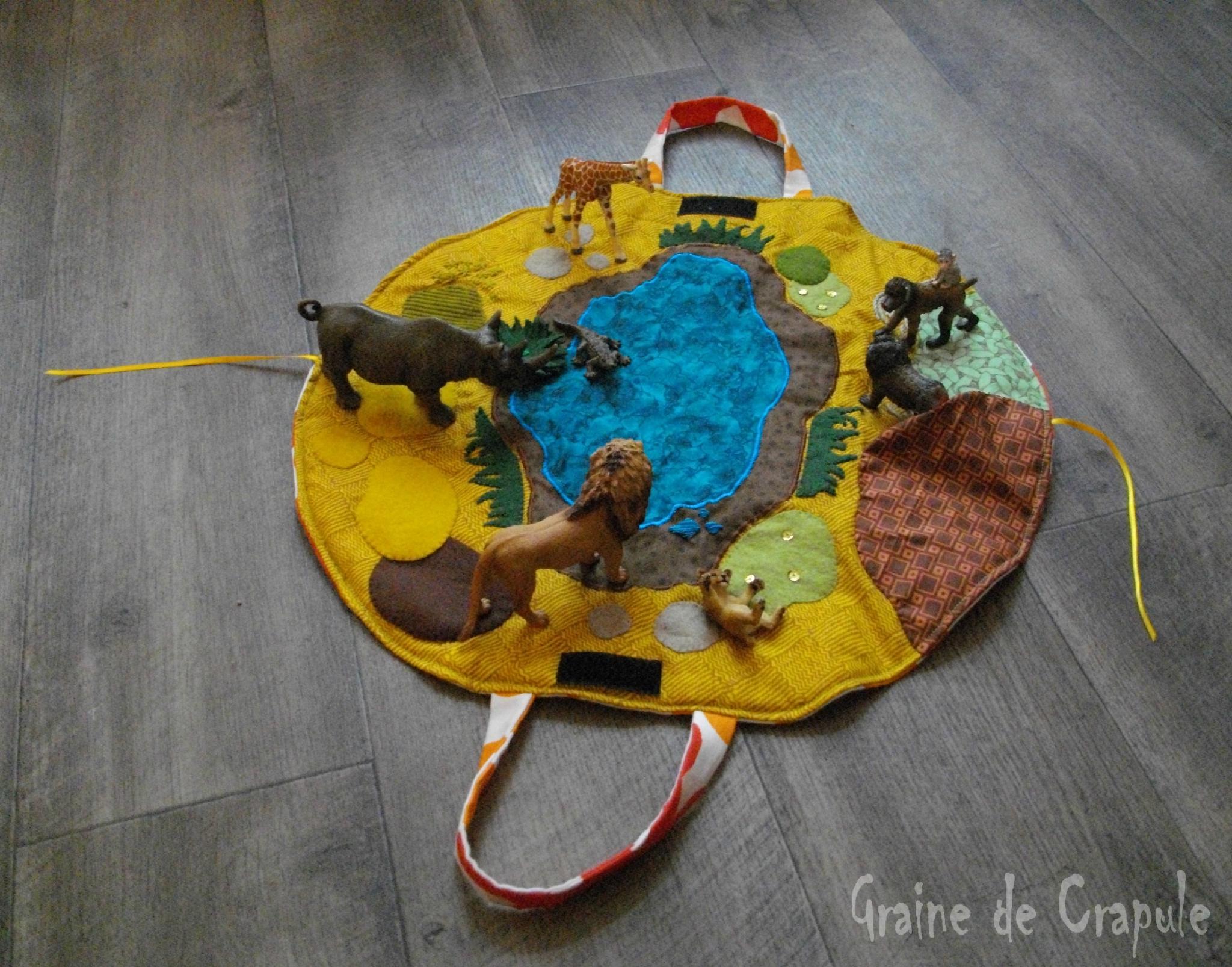 """Tapis De Jeu """"savane"""" / Small World - Graine De Crapule destiné Jeux De Savane"""