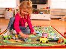 Tapis De Jeu Voiture - Jouet Enfant - Melissa Et Doug - Lapouleapois.fr destiné Les Jeux Des Garçons De Voiture