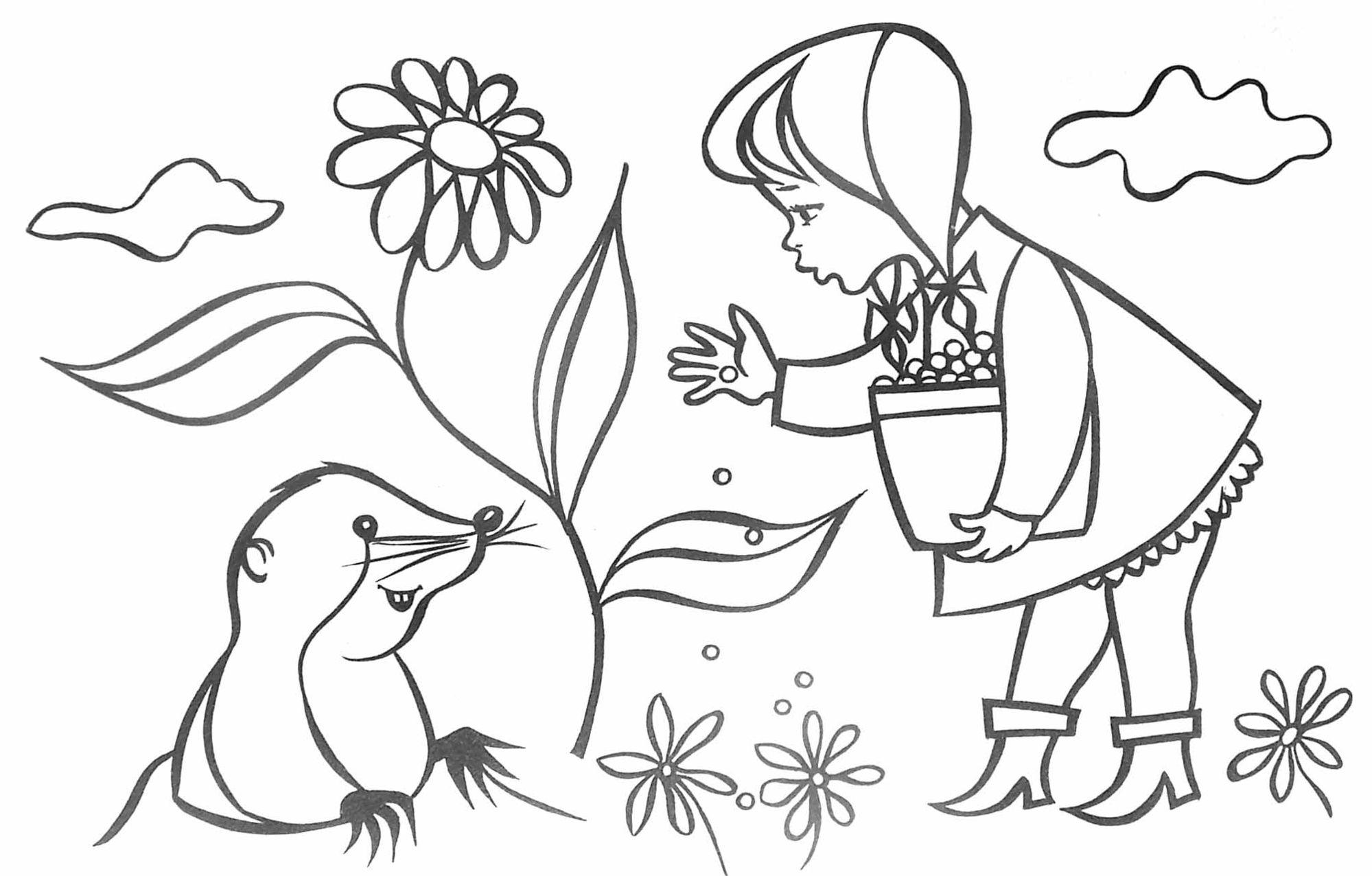 Taupe #23 (Animaux) – Coloriages À Imprimer avec Dessin De Taupe