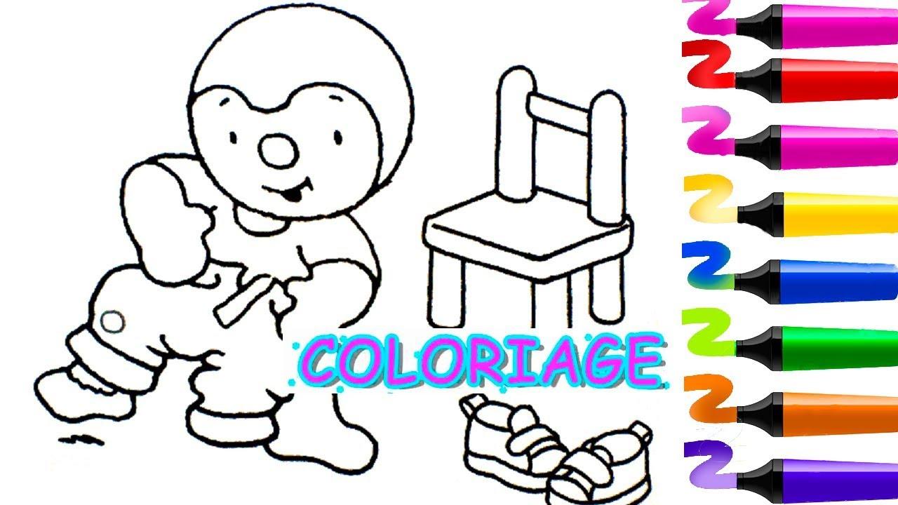 Tchoupi À L'école | Tchoupi Et Ses Amis | Coloriage Tchoupi à Coloriage De Tchoupi Et Doudou