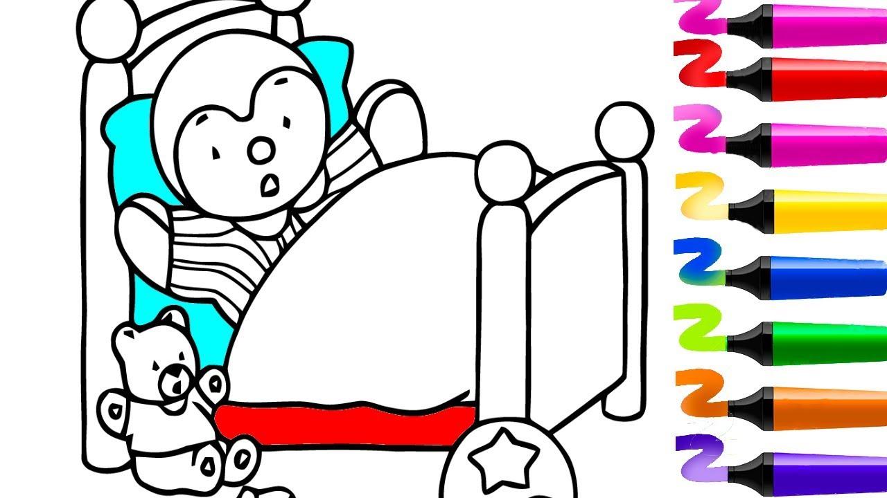 Tchoupi À L'école | Tchoupi Et Ses Amis | Coloriage Tchoupi tout Coloriage De Tchoupi Et Doudou