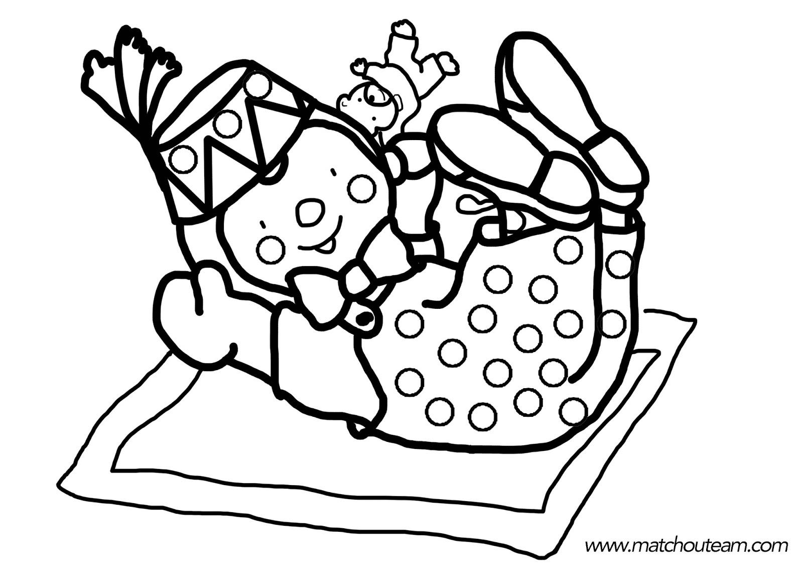 T'choupi Et Doudou #18 (Dessins Animés) – Coloriages À Imprimer pour Coloriage De Tchoupi Et Doudou