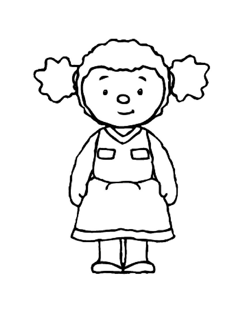T'choupi Et Doudou #19 (Dessins Animés) – Coloriages À Imprimer avec Dessin De Doudou