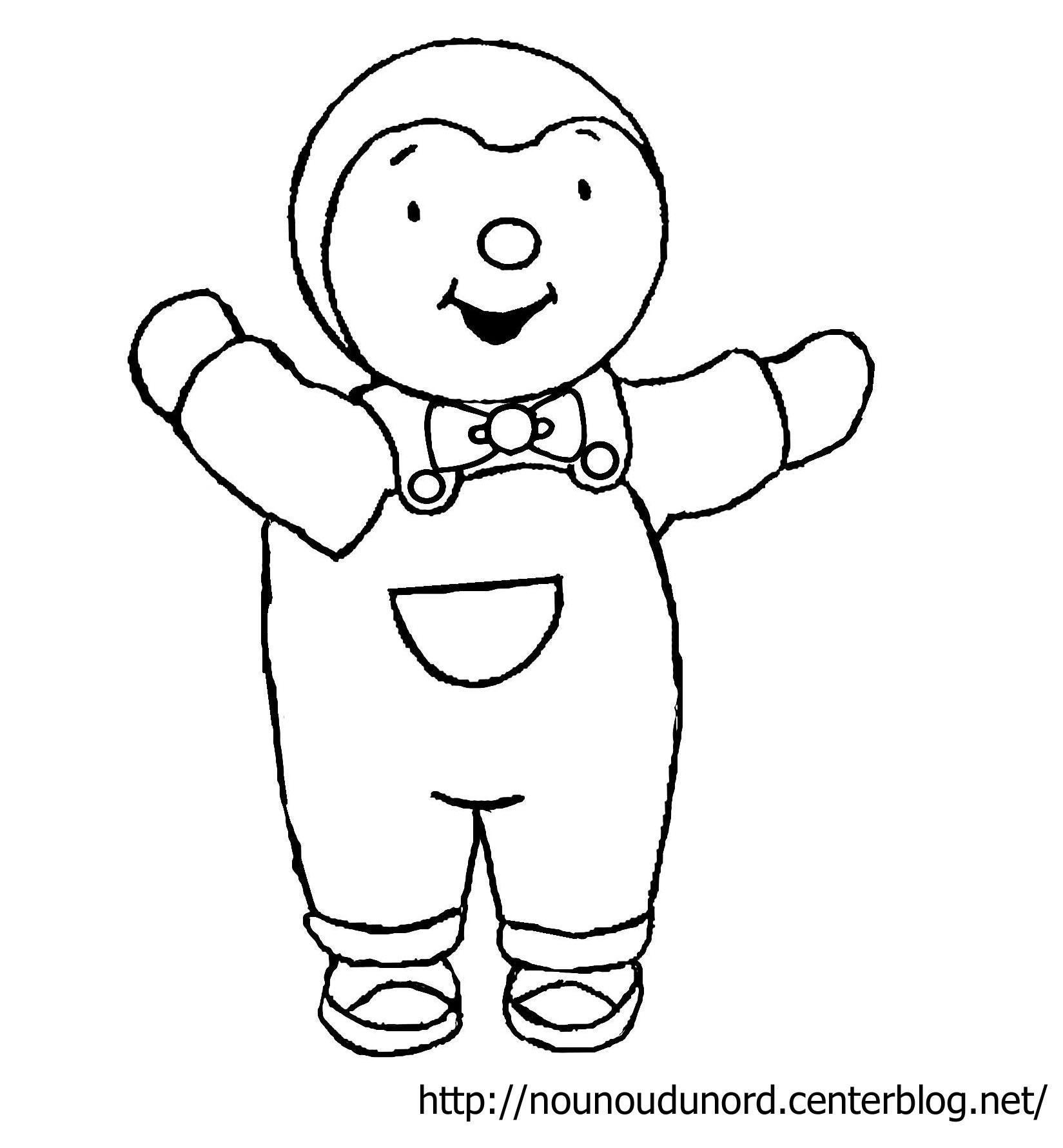 T'choupi Et Doudou #37 (Dessins Animés) – Coloriages À Imprimer avec Dessin De Doudou