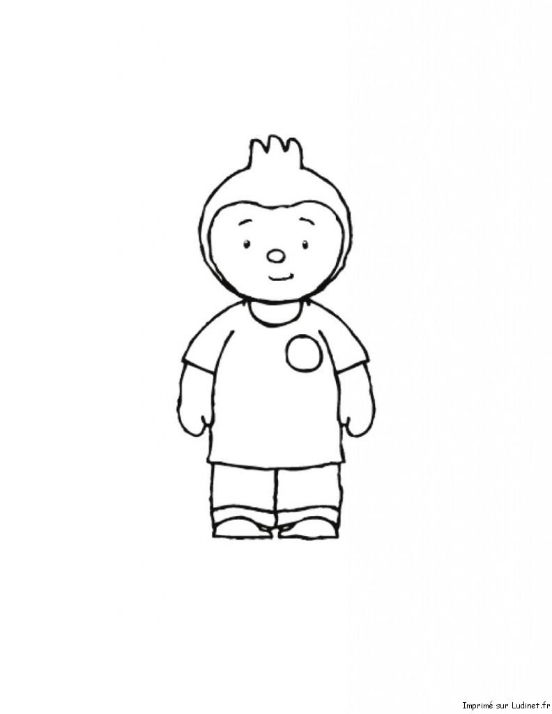 T'choupi Et Doudou #41 (Dessins Animés) – Coloriages À Imprimer serapportantà Coloriage De Tchoupi Et Doudou