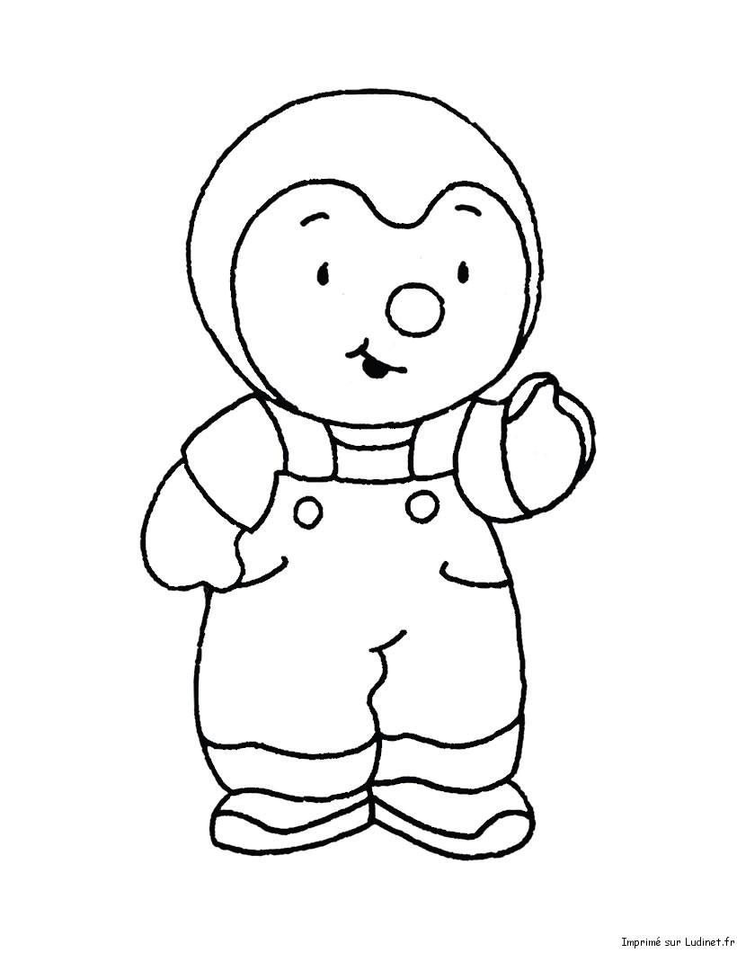 T'choupi Et Doudou #52 (Dessins Animés) – Coloriages À Imprimer pour Dessin De Doudou
