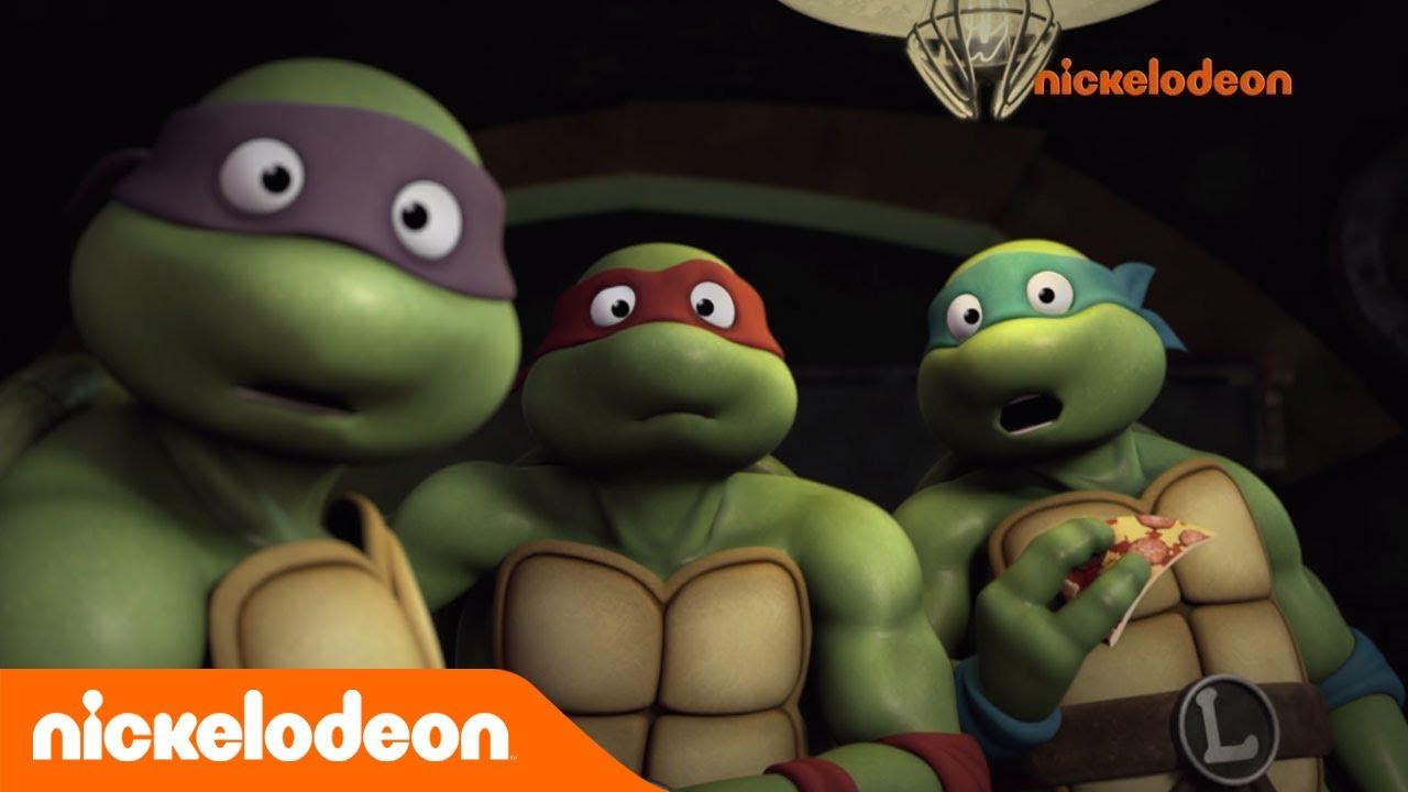 Teenage Mutant Ninja Turtles : Les Tortues Ninja | Tortues En Double ! |  Nickelodeon France serapportantà Dessin De Tortue Ninja