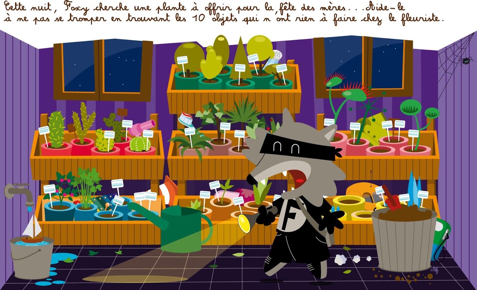 Tef Graphiste Illustrateur Enfant / 0609474204 / Tefgraph encequiconcerne Trouver Les 7 Erreurs