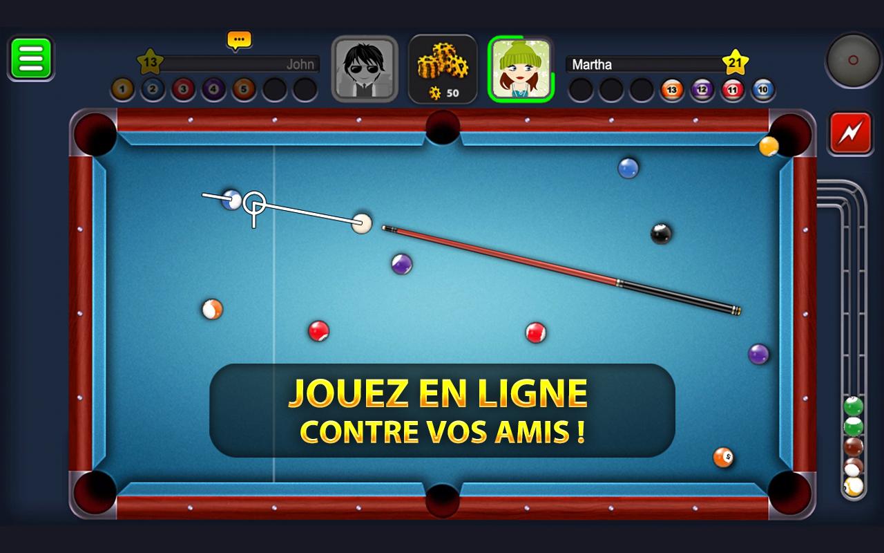 Télécharger Apk Android 8 Ball Pool4.7.7 | Aptoide pour Jeux Gratuit Billard