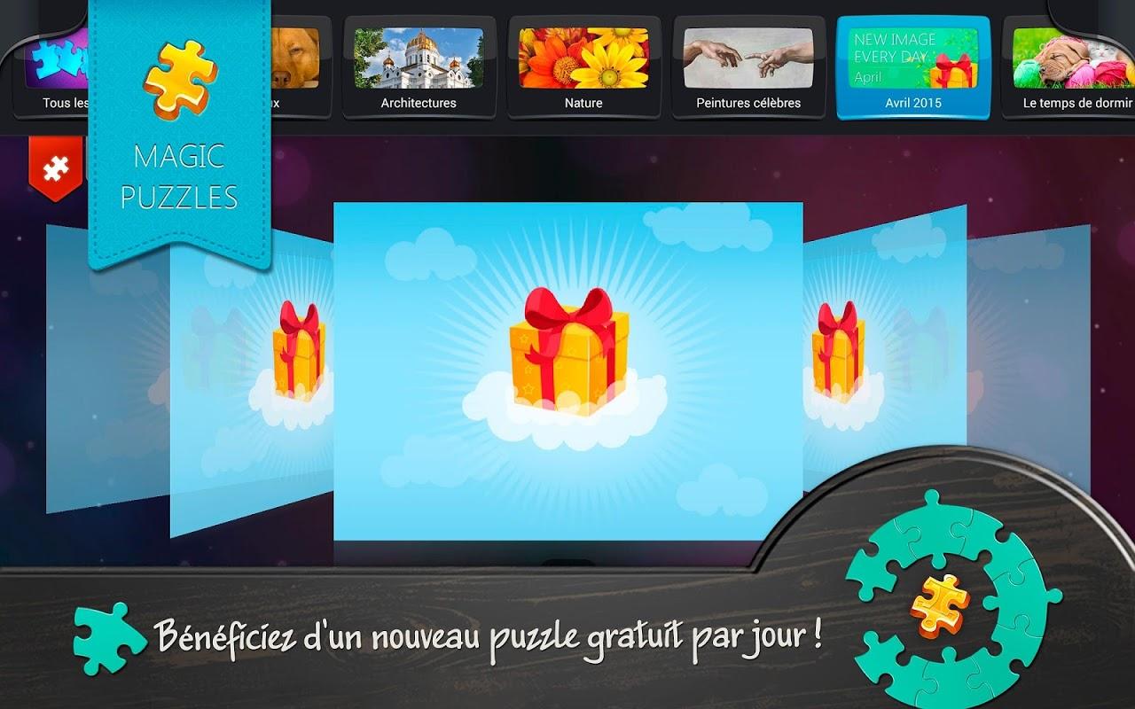 Télécharger Apk Android Puzzles Magiques5.19.8 | Aptoide pour Puzzles Gratuits Sans Téléchargement
