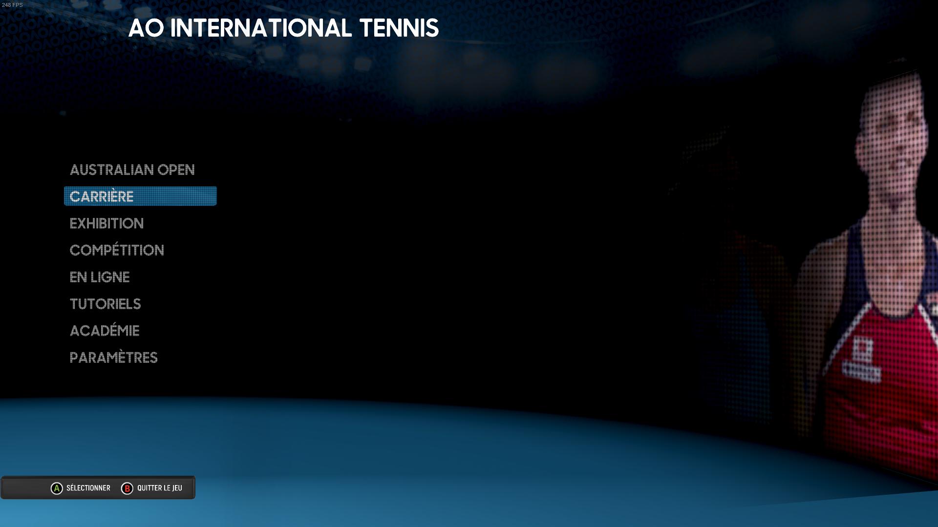 Tennis World Tour - Test Croisé D'ao International Tennis Et intérieur Jeux A Deux En Ligne