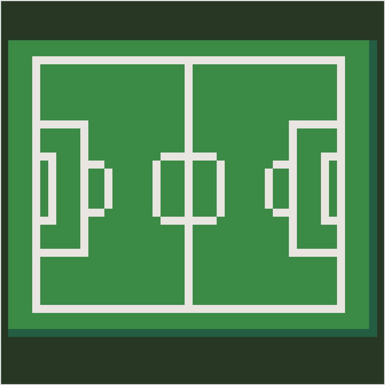 Terrain De Football En Pixel Art encequiconcerne Jeux De Dessin Pixel Art Gratuit