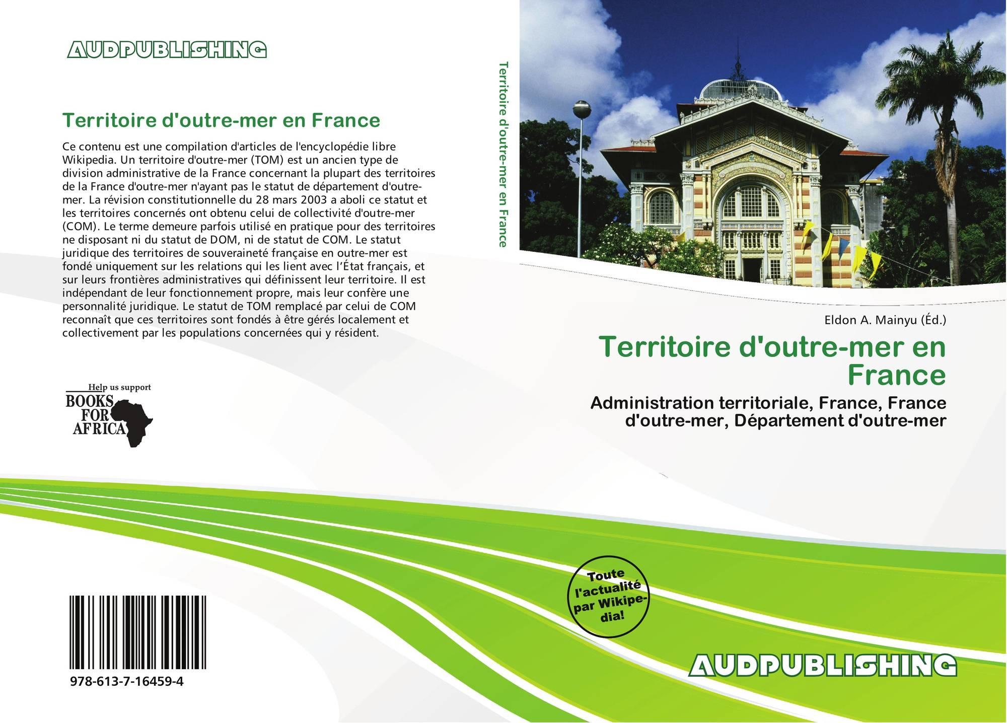 Territoire D'outre-Mer En France, 978-613-7-16459-4 concernant France Territoires D Outre Mer