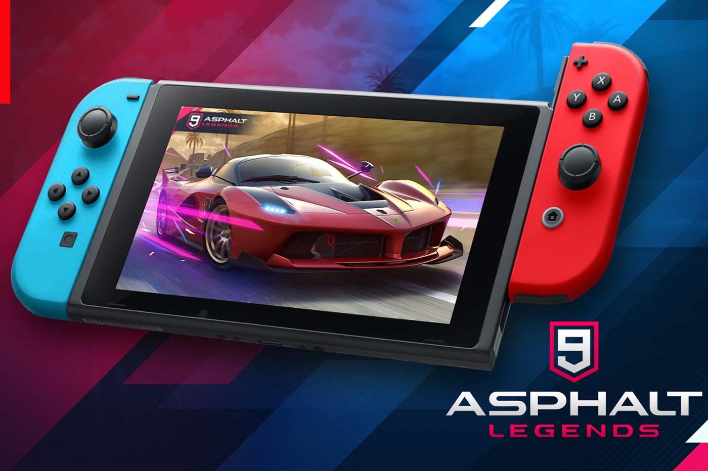 Test Asphalt 9 Legends : La Switch Tient-Elle Son Meilleur avec Jeux De Mini Voiture