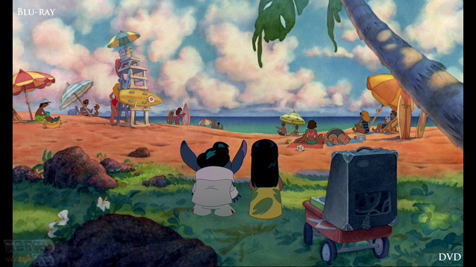 Test Blu-Ray Lilo & Stitch, Édition 2014 De La Version concernant Lilo Et Stitch Dessin Animé