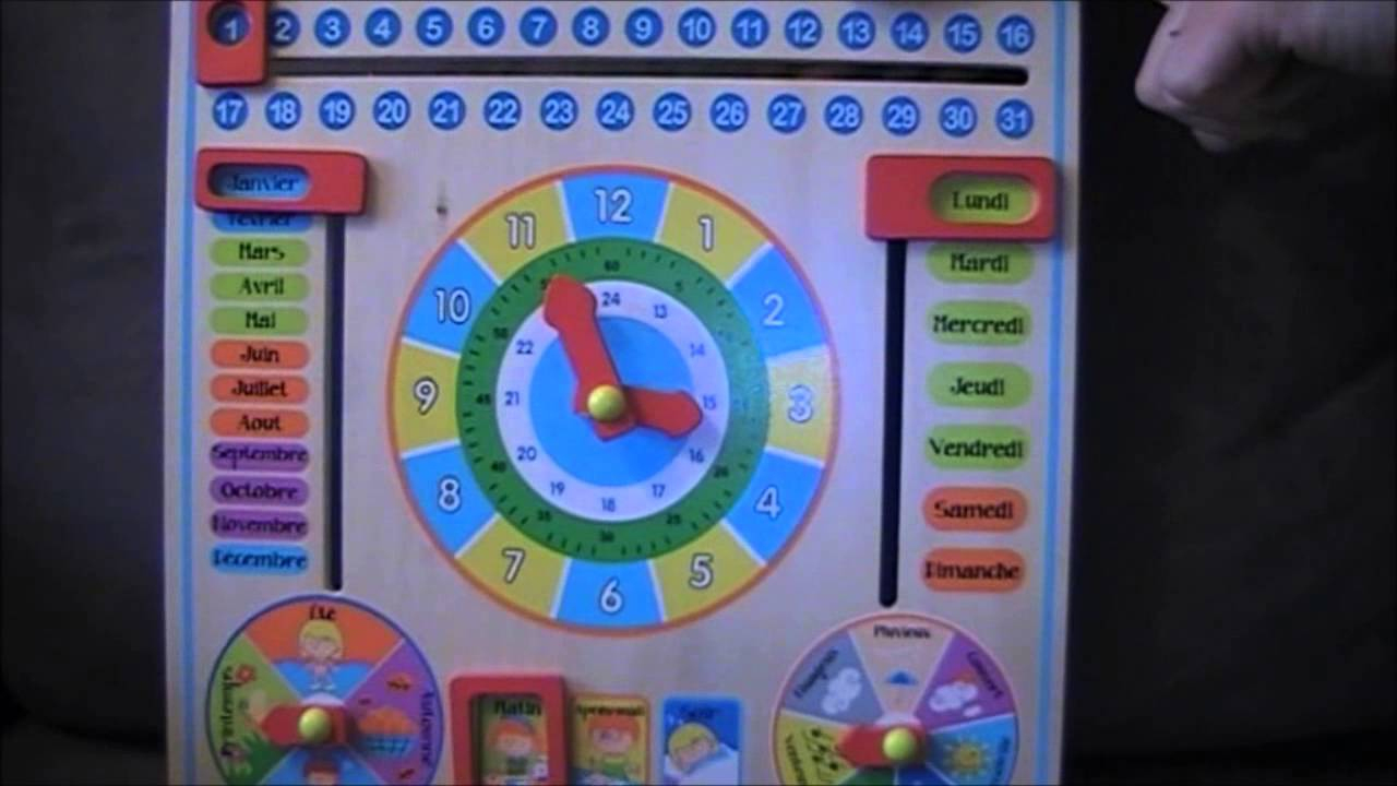 Test Calendrier - 3/6 Ans - Jeu D'apprentissage - Démo tout Jeux D Apprentissage Maternelle