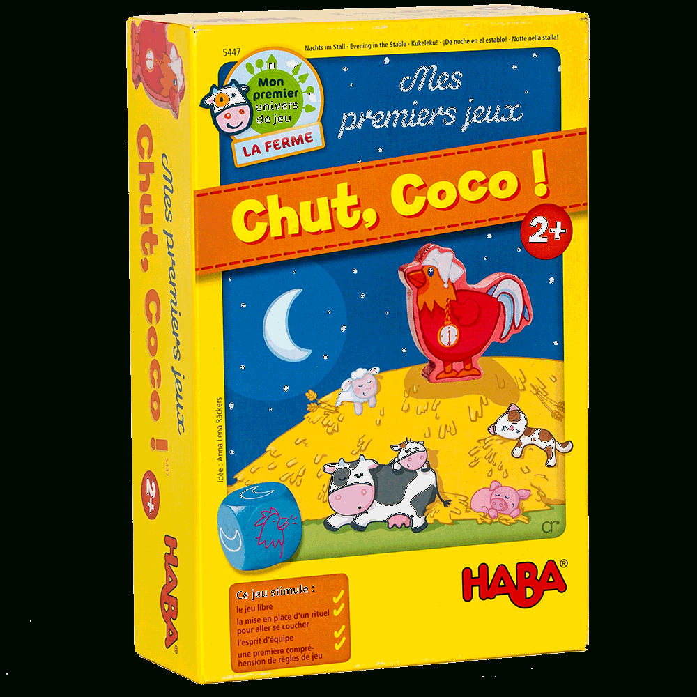Test - Chut Coco ! (Attention Au Cocorico) – Plateau Marmots avec Jeux Pour Enfant De Deux Ans