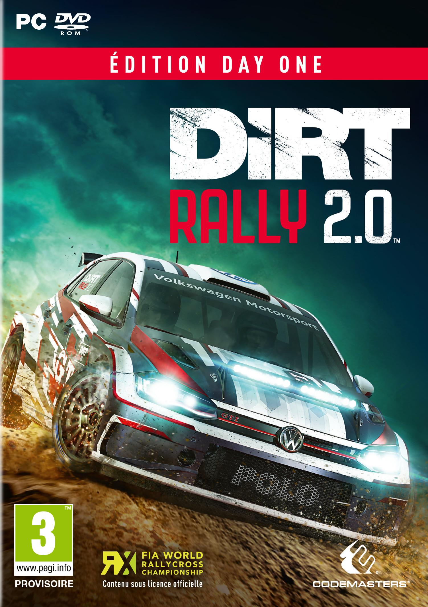 Test Dirt Rally 2.0 : Plus Aboutie Mais Moins Complète, Une encequiconcerne Jeu De Difference Gratuit
