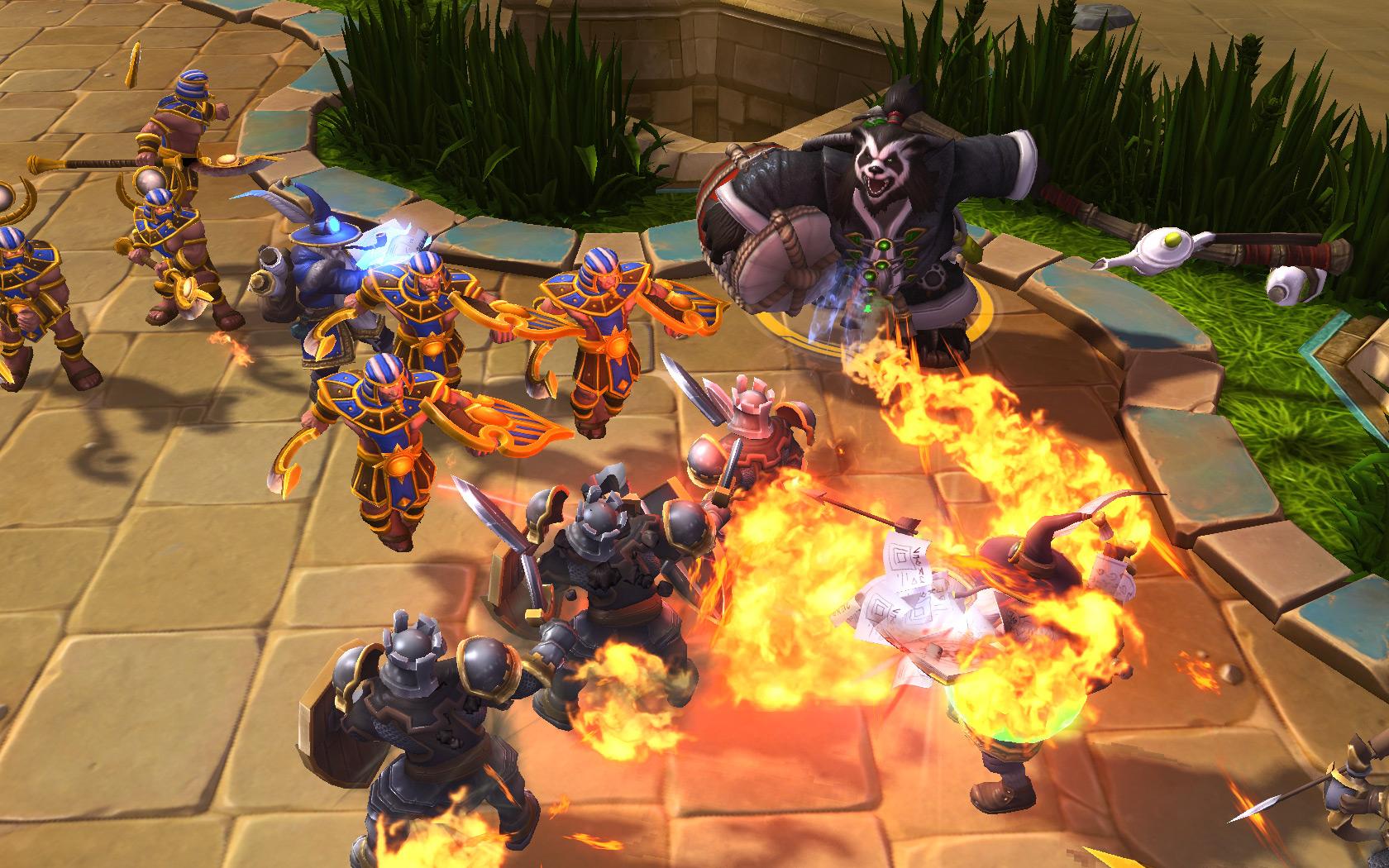 Test] Heroes Of The Storm : Peut-Il Renverser League Of encequiconcerne Jeux En Ligne Tout Petit