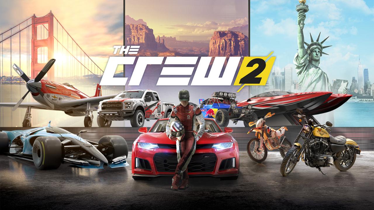 Test Jeu Vidéo : The Crew 2 : Voiture, Moto, Avion, Bateau tout Les Jeux De Voiture De Course