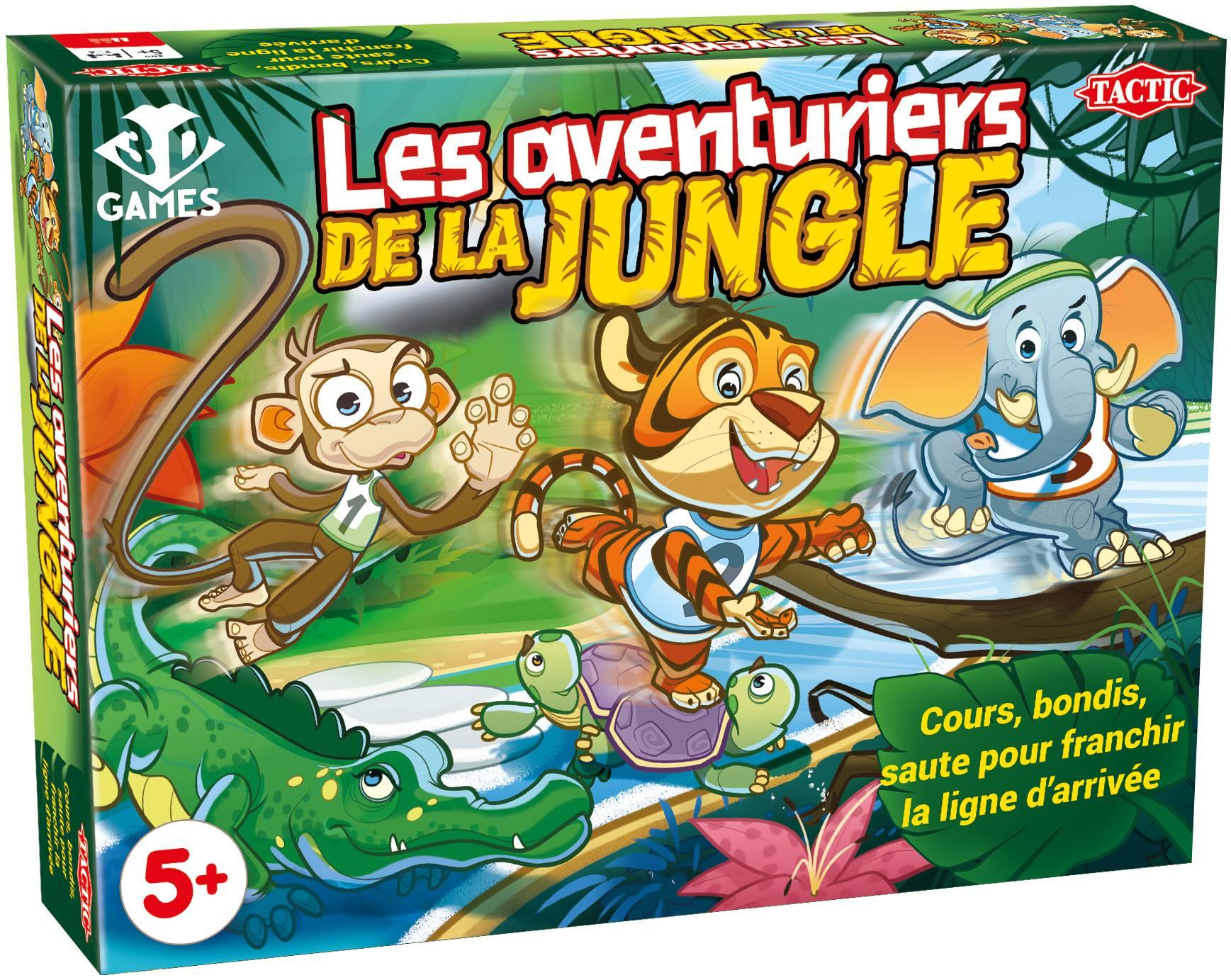 Test - Les Aventuriers De La Jungle – Plateau Marmots destiné Jeux En Ligne 2 Ans